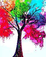 Картина по номерам Яркое дерево, 40x50 см., Art Story