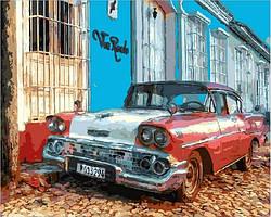 Картина по номерам Виа Реале Куба  40x50 см. Mariposa