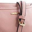 Женская сумка-клатч AMELIE GALANTI A991457-pink из кожзама, розовый, фото 7