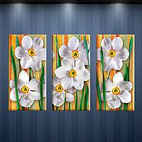 Алмазная мозаика Весеннее настроение (20x40)*3см DM-150 Полная зашивка. Набор алмазной вышивки