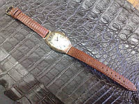 Ремешок из ИГУАНЫ для старинных золотых часов Hy Moser & Cie , фото 1