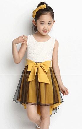 Детское нарядное платье .