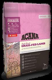 Сухой гипоаллергенный корм для собак всех пород ACANA Grass-Fed Lamb, 2 кг