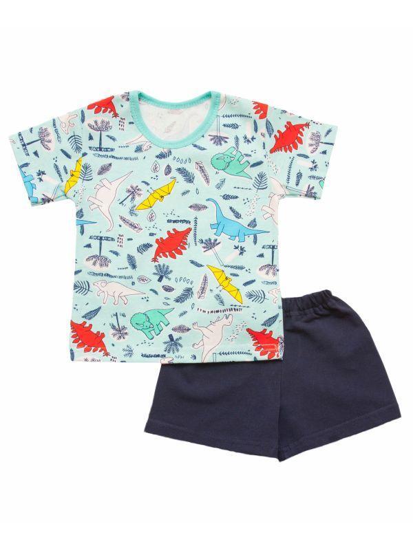 Комплект для мальчика летний футболка и шорты