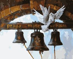 Картина по номерам Вечный город. Худ. Владимир Абат-Черкасов, 40x50 см., Mariposa