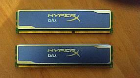Оперативная память Kingston 4 GB (2x2GB) DDR3 1600 MHz (KHX1600C9D3B1K2/4GX)