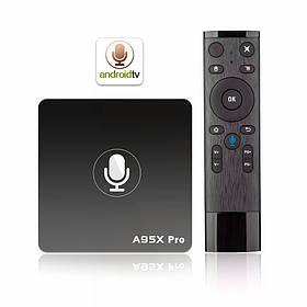 Smart Tv Box A95X PRO S905W 2/16Gb + ГОЛОСОВОЙ ПУЛЬТ, НОВИНКА!