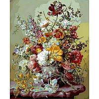 Картина по номерам Цветочная преданность 40x50 см. Babylon