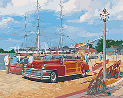 Картина по номерам Портове містечко, 40x50 см., Art Story