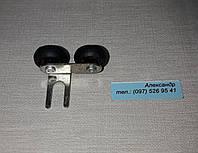 Верхний  ролик  для шкаф-купе на подшипнике  (левый)