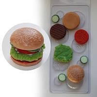Пластиковая форма Бургер
