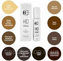 ХНА ДЛЯ БРІВ PREMIUM HENNA HD 5 g Lucas Cosmetics, CC Brow Какао (cocoa)