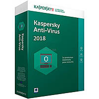 Антивирус Kaspersky Anti-Virus 2018 1 ПК 1 год Base Box (DVD-Box) (5060486858101)