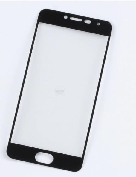 Скло захисне для телефону Meizu M3, M3 Mini, M3s 9Н, Full Screen, чорного кольору