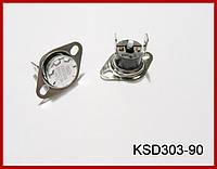 KSD303-90, термопредохранитель, 250V-10A, (90°C).