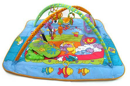 Развивающий коврик детский Зоосад Tiny Love, фото 2