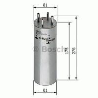 Фільтр палива VOLKSWAGEN T5 2003-2009 (0 450 906 467) BOSCH