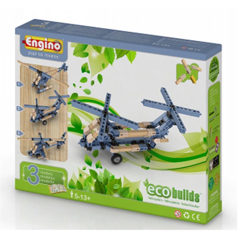 Конструктор Engino Вертольоти 3 моделі