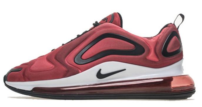 2176ccf0 Мужские кроссовки Nike Air Max 720 Bordo (найк аир макс 720, бордовые)