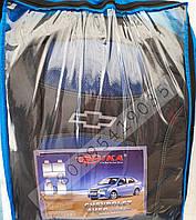 Чехлы на Шевроле Авео 2002-2011 седан  синий Chevrolet Aveo 2002-2011 sedan   синий Nika модельный комплект