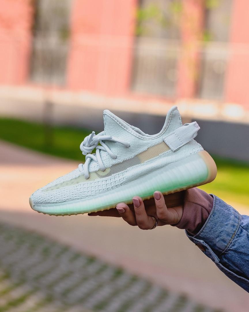 """Женские кроссовки  Adidas Yeezy Boost 350 """"White"""" (в стиле Адидас )"""