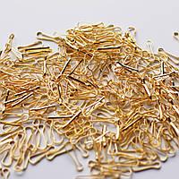 Карабин золотой для лент и медалей 17мм, фото 1