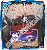 Чехлы на сидения ЗАЗ Славута ZAZ COPER Nika красный модельный комплект