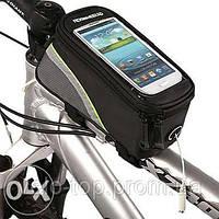 "Сумка на раму под телефон до 7"" включительно,нарамная сумка для смартфона"