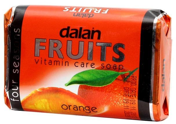 """Мыло Dalan Fruits """"Апельсин"""" (100г.), фото 2"""