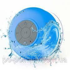Водонепроницаемая портативная блютуз Bluetooth колонка на присоске, фото 1