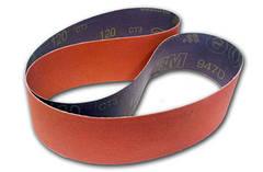 Шлифовальные ленты с керамическим зерном для сухой шлифовки металлических сплавов - 3М 947D CUBITRON