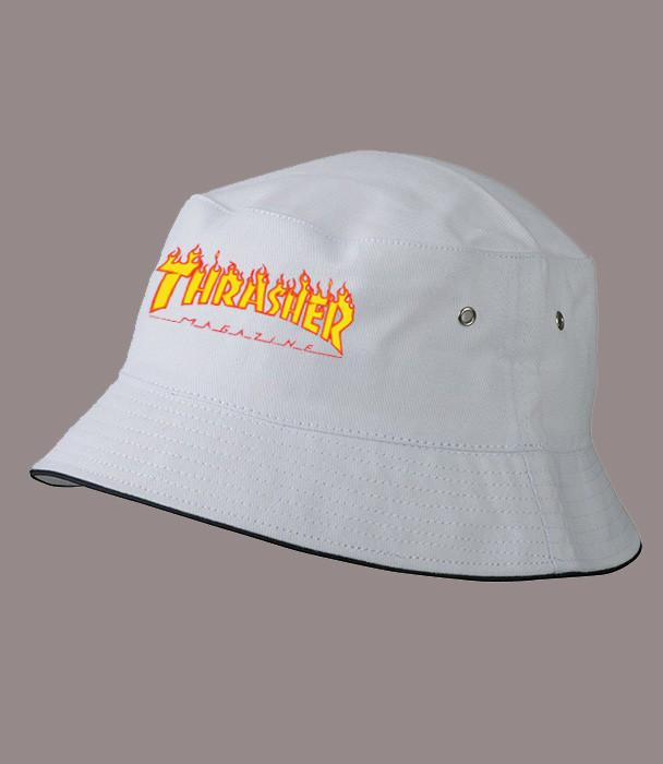 Панама THRASHER, белая    Трешер мужская как оригинал