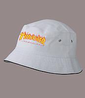 Панама THRASHER, белая    Трешер мужская как оригинал, фото 1