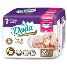 Dada Little one 1 NEWBORN – 26 шт. / 2-5 кг