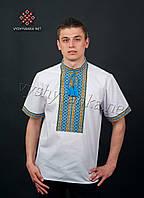 Мужская вышиванка короткий рукав