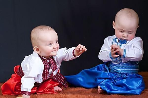 Детская одежда с вышивкой для маленьких мальчиков