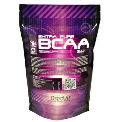 Амінокислоти Extra Pure BCAA 2:1:1 Ostrovit (orange, lemon) 1000 грам, фото 2