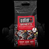 Брикеты угольные Weber 17590, 4 кг, фото 4