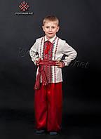 Шаровары красные на мальчика, арт. шч