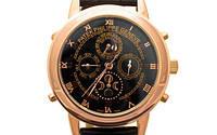 Мужские механические наручные часы Patek Philippe Sky Moon, Gold, фото 1