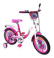 Велосипед 2-х колес 16'' 171621  со звонком,зеркалом,руч.тормоз