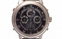 Мужские механические наручные часы Patek Philippe Sky Moon, Silver, фото 1