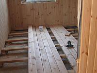 Монтаж доски пола, укладка деревянного пола