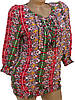 Яркая летняя блузка для женщин. Штапель (44), фото 2