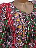 Яркая летняя блузка для женщин. Штапель (44), фото 3