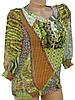 Женская блуза с рукавами 3/4 (42), фото 2