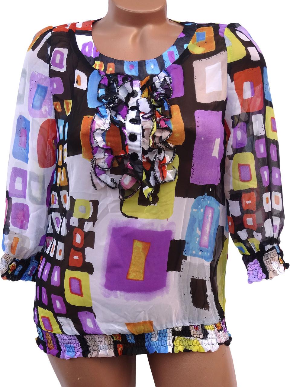 Интересные женские блузки (в расцветках 42,46)