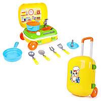 """Іграшка """"Кухня з набором посуду Технок"""" Арт.6078"""