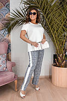 Костюм  женский с штанами  Флора, фото 1