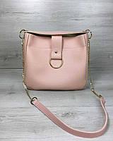 Молодіжна жіноча сумка Єва мерехтливої кольору